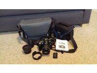 Nikon D70 SLR Digital Camera + Extras