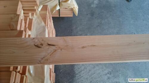 Handlauf Holz Douglasie Balkon B Sorte Holzbalkon 5 Meter In