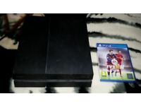 PS4 & Fifa 16 For sale With All Cables (No Controllers)