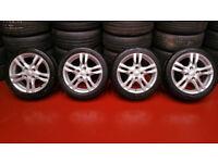 Mitsubishi Genuine 16'' alloy wheels + 4 x tyres 205 45 16
