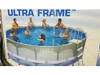 Large intex Pool