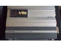 Alpine V12 MRV-F407 Amp