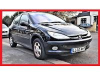 Cheap AUTO -- Peugeot 206 Automatic 5dr -- Part Exchange OK --alternate4 vauxhall corsa toyota yaris