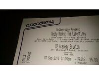 2 x Libertines standing tickets Brixton Weds 7th