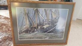 Framed wall print