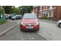 Low Mileage Vauxhall Zafira 1.8 SRI 7 Seater 12 Mths MOT Serv History Available