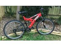 Tax mountain bike
