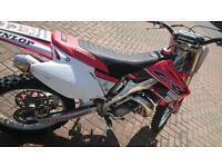 Honda cr 250 2003 model road registered 2 stroke