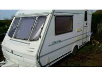 Abbey chorus lightweight 2 berth caravan