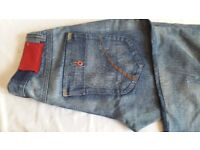 Men's Jeans ZJ 1975 reg. (4 Loose Fit Straight, Low Waist, button Fly)