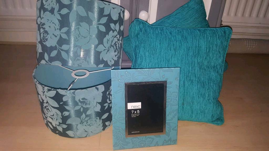 Teal home items