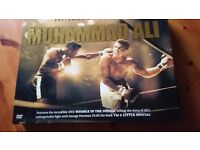 Mohammad Ali DVD and book boxed set