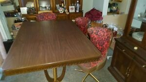 Retro Dining Tables and Chairs