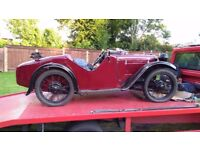1930 Austin Seven EAS Ulster Replica