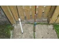 2x Fishing Rods 7ft + 4ft