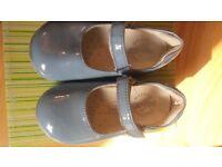 Blue spanish shoes