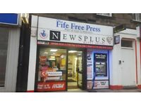 *** RETIREMENT *** Kirkcaldy Newsagent to let High street