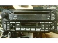 pt cruiser radio cd cassette player,