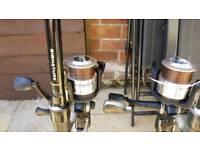 Wychwood rods & wychwood baitrunner reels