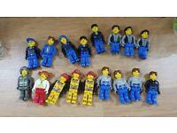Lego bundle of jack stone figures