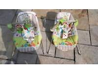 Baby bouncer chairs Fisher price