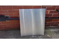 Cooker Splashback Stainless Steel