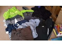 Bundle of boys clothes aged 14-15 years