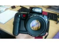 Canon EOS EF AF Auto Focus SLR DSLR Digital Film 50mm 1.4 Lens