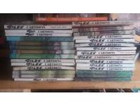 LAGRE COLLECTION OF GILES BOOKS 30 in