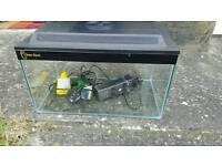 Fish tank and pump