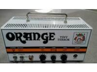 ORANGE TINY TERROR VALVE AMP HEAD 7 or 15 watts