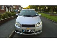 Chevrolet Aveo LS, all usual extras for this model, MOT till june 2017, quick sale £1000 ono
