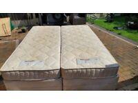 Luxury Dunlopillo King size bed
