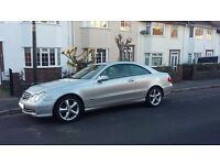 ***** LOW MILEAGE MERCEDES CLK 2.6 240 COUPE *****