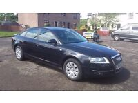 For sale Audi A6 2.0 TDI (diesel) 2005 black with leather interior. Good condition.