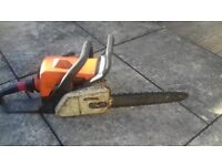 Spares or repair sthil chain saw