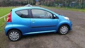 PEUGEOT 107 **AUTOMATIC** VERY LOW MILEAGE 12 Months MOT