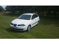 Seat Ibiza* White* Ready this Week* Clean tidy car* Drives Great Read Add not Astra Fiesta Polo Mini