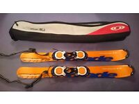 salomon buzz90 90cm snow blades with bag case