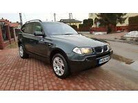 BMW X3 3.0I SPORT AUTO LOW MILEAGE ONLY 35000MIL MINT CONDITION