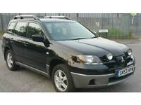 MITSUBISHI OUTLANDER 2.4 SE SPORTS, LEATHER INTERIOR, TWIN ROOF, LPG GAS, ALLOYS WITH GOOD TYRES