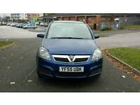 Vauxhall zafira 1.6 petrol 7 seater long Mot Hpi clear excellent drive
