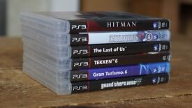 Sony PlayStation 3 Slim 320gb (PS3) w 2 Controllers and 6 games (GTA 5, Battlefield, Last of Us etc)