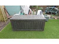 Large garden storage box
