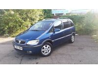 Vauxhall zafira 1.8 7seater in good condition long tax&mot bargain £360