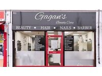 Barber Shop For Rent in Very Busy beauty Salon