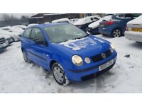 VW POLO 1.9SDI 3DR FULLY SERVICED++12 MONTH MOT++STARTS AND DRIVES PERFECT++COMPLETE BARGAIN!