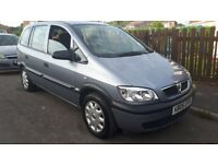 Vauxhall zafira 1.8 life 05 only 68k with full service history