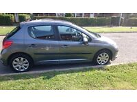 2008 Peugeot 207 1.4 Diesel 5dr for sale, cheap TAX road - £30 per year. Milage 88 217 miles