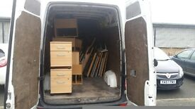 Man and van services.Rubbish removal services .Collections Ebay deliveries 24/7 nationwide.Mwb van
